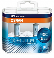 Набор ламп Osram H7-12v 55w - PX26d +20% Cool Blue Intense DuoBox