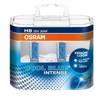 Набор ламп Osram H8-12v 35w - PGJ19-1+20%Cool Blue Intense EuroBox