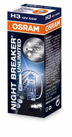 Лампа Osram H3-12v 55w Night Breaker unlimited +110%